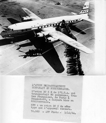 1964-10-03 photo DC6B crash en Méditerranée.jpg